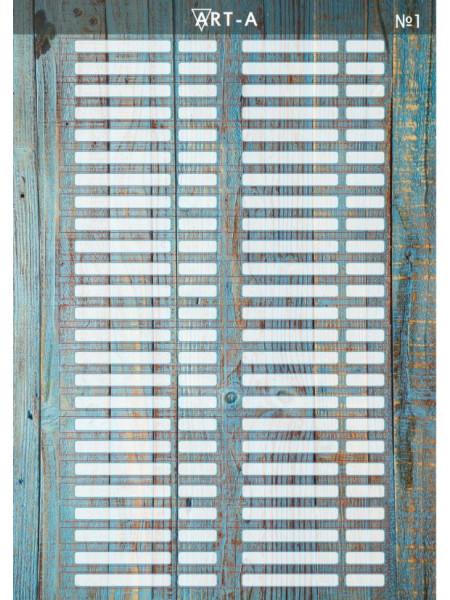 Art-A наклейки на типсы №01