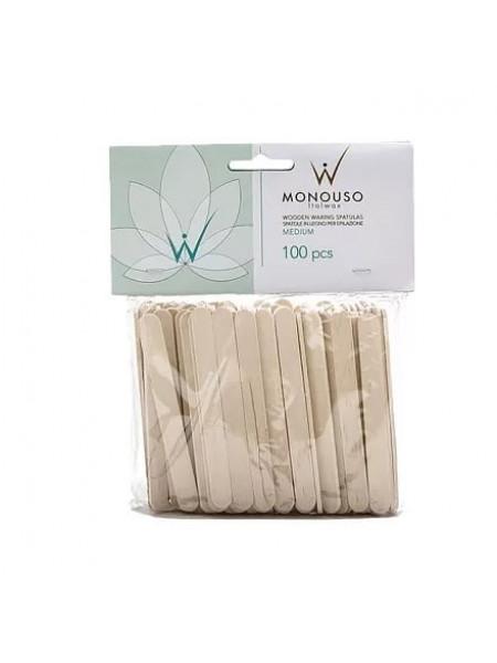 Шпатели для депиляции средние (Упаковка 100 шт.) Italwax