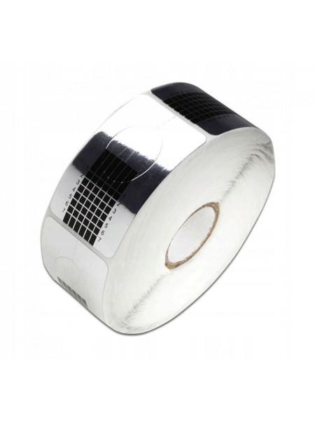 Формы для ногтей JN 500шт одноразовые квадрат (серебро)